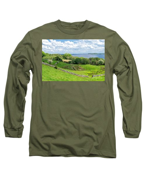 Long Sleeve T-Shirt featuring the photograph  Loch Coirib by Juergen Klust