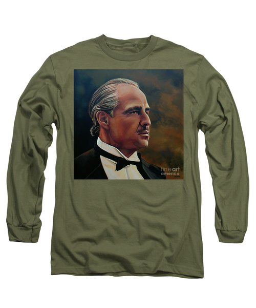 Marlon Brando Long Sleeve T-Shirt