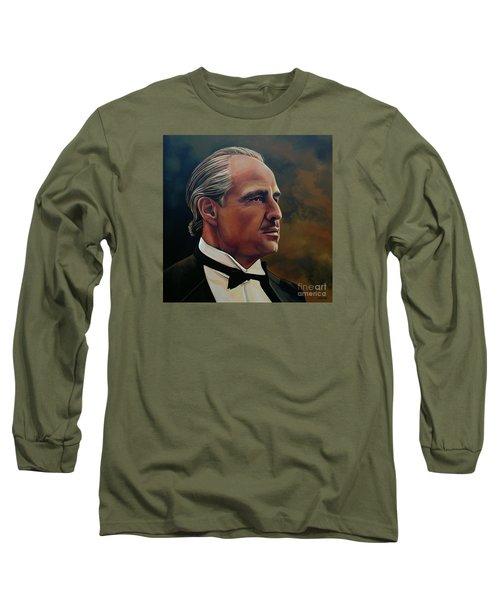 Marlon Brando Long Sleeve T-Shirt