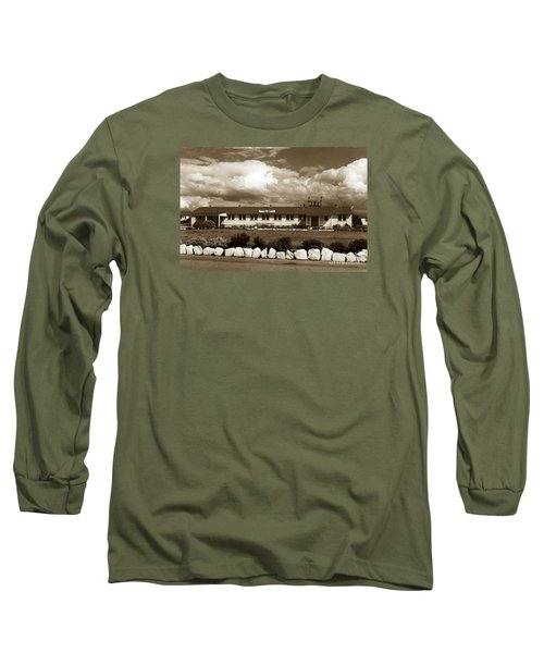 The Fort Ord Station Hospital Administration Building T-3010 Building Fort Ord Army Base Circa 1950 Long Sleeve T-Shirt