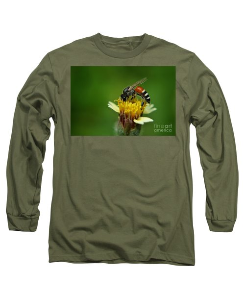 Working Bee Long Sleeve T-Shirt by Michelle Meenawong