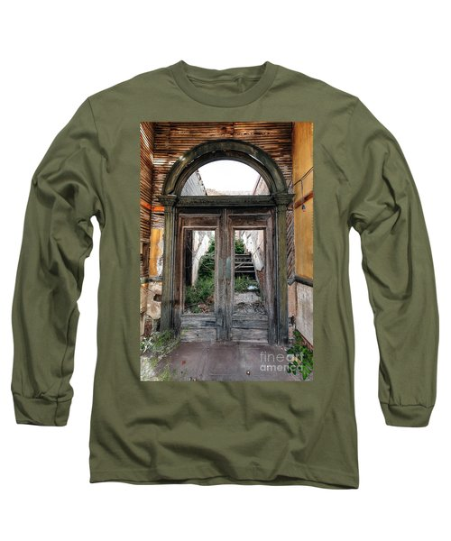 0707 Jerome Ghost Town Long Sleeve T-Shirt