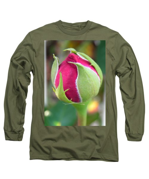 Long Sleeve T-Shirt featuring the photograph Anticipation by Deb Halloran