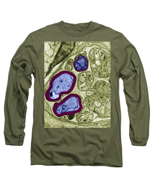 Axons In Rat Cell, Tem Long Sleeve T-Shirt