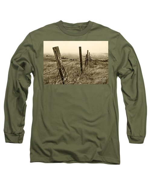 Long Sleeve T-Shirt featuring the photograph Bay Hill Road by Roselynne Broussard