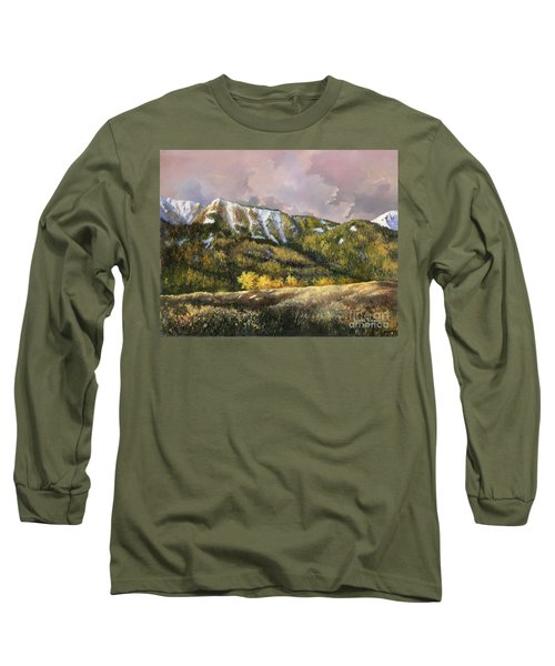 Long Sleeve T-Shirt featuring the painting Bear Claw by Lynne Wright
