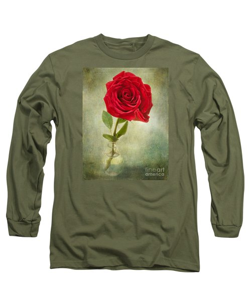 Beautiful Rose Long Sleeve T-Shirt by Lena Auxier