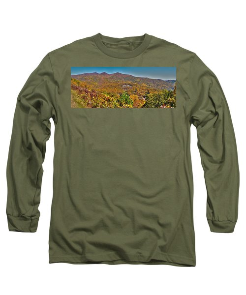 Long Sleeve T-Shirt featuring the photograph Blue Ridge Parkway by Alex Grichenko