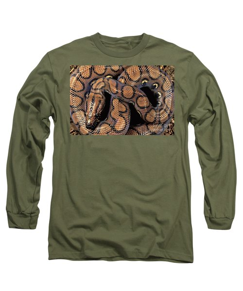 Brazilian Rainbow Boa Long Sleeve T-Shirt by Art Wolfe