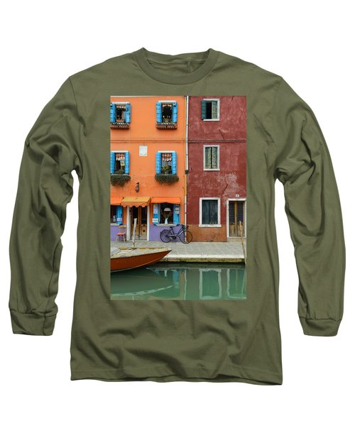 Burano Italy Long Sleeve T-Shirt