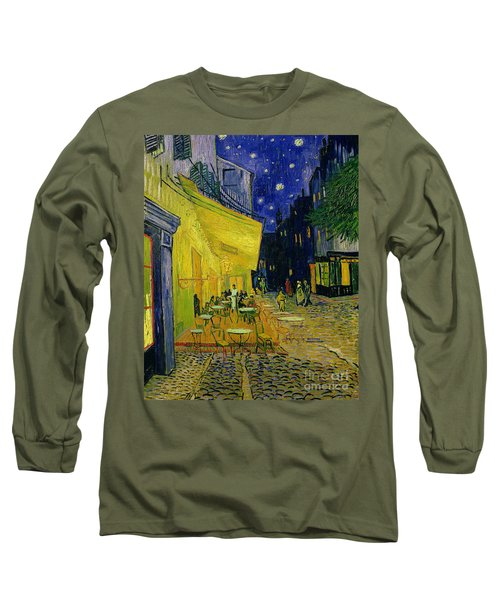 Cafe Terrace Arles Long Sleeve T-Shirt