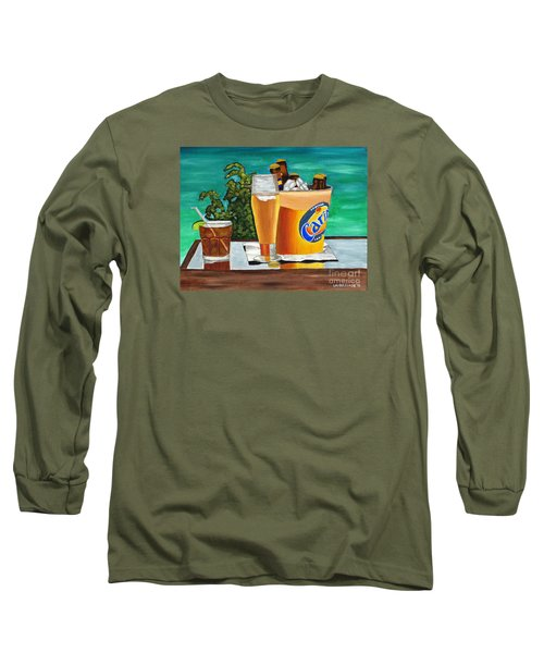 Caribbean Beer Long Sleeve T-Shirt