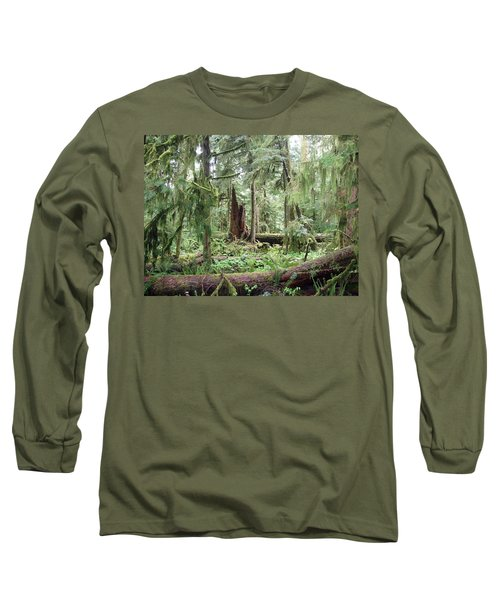 Long Sleeve T-Shirt featuring the photograph Cathedral Grove by Marilyn Wilson