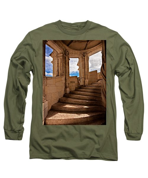 Chateau De Blois Staircase / Loire Valley Long Sleeve T-Shirt