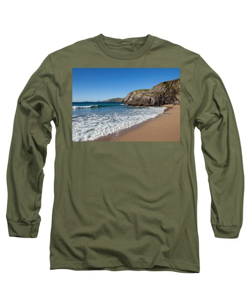 Coumeenoole Beach Slea Head Dingle Long Sleeve T-Shirt