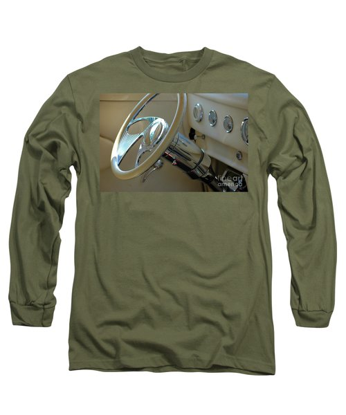 Long Sleeve T-Shirt featuring the photograph Dashboard Glam by Christiane Hellner-OBrien