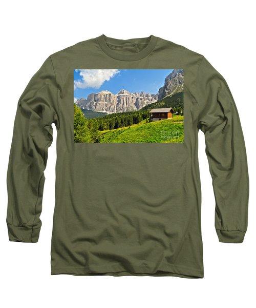 Dolomiti - High Fassa Valley Long Sleeve T-Shirt