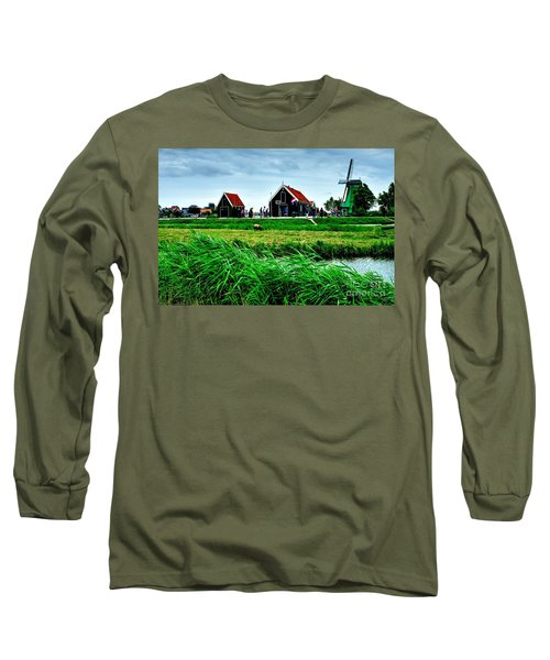Long Sleeve T-Shirt featuring the photograph Dutch Village by Joe  Ng