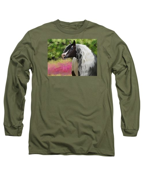 Hold On To Me Long Sleeve T-Shirt by Kate Black