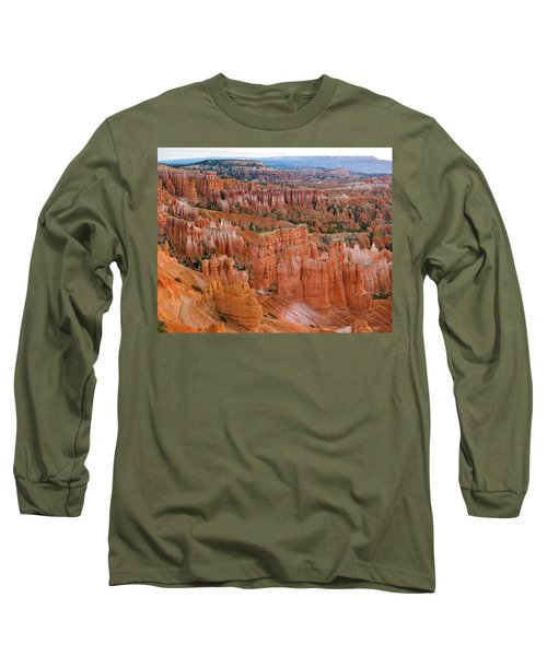 Hoodoo Rock Formations In A Canyon Long Sleeve T-Shirt