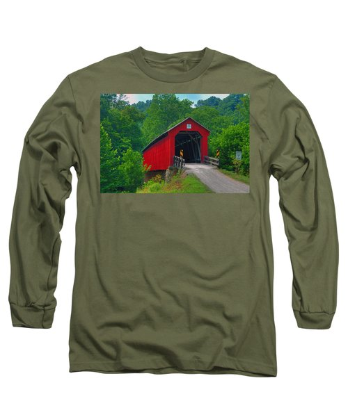 Hune Covered Bridge Long Sleeve T-Shirt