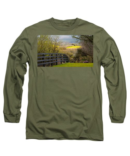 Irish Countryside In Spring Long Sleeve T-Shirt