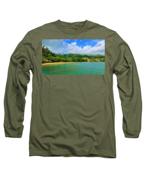 Island Of Maui Long Sleeve T-Shirt by Michael Rucker