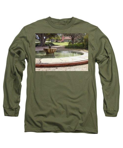 La Purisima Fountain Long Sleeve T-Shirt