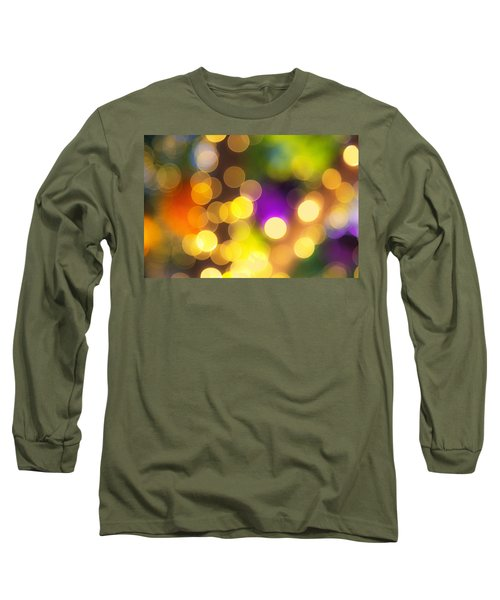 Light Circles Long Sleeve T-Shirt by Susan Stone