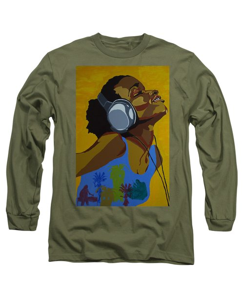 Rhythms In The Sun Long Sleeve T-Shirt