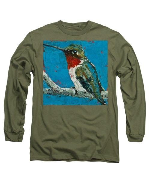 Ruby-throated Hummingbird Long Sleeve T-Shirt