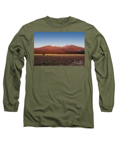San Francisco Peaks Sunrise Long Sleeve T-Shirt