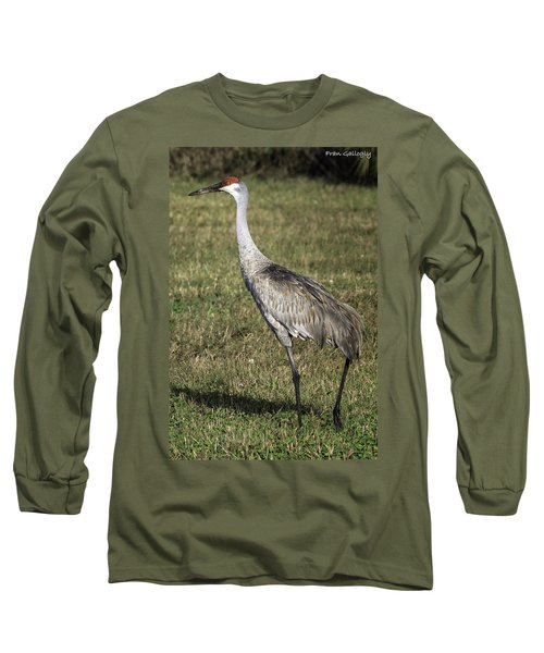 Sandhill Crane Long Sleeve T-Shirt