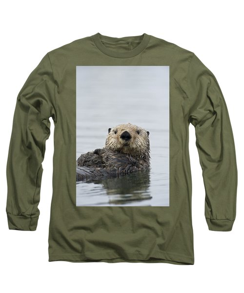 Sea Otter Alaska Long Sleeve T-Shirt