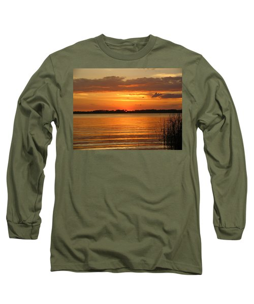 Setting Sun In Mount Dora Long Sleeve T-Shirt