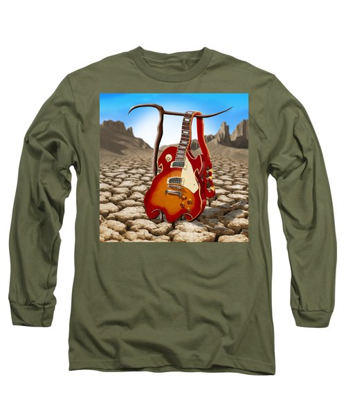 Soft Guitar II Long Sleeve T-Shirt by Mike McGlothlen