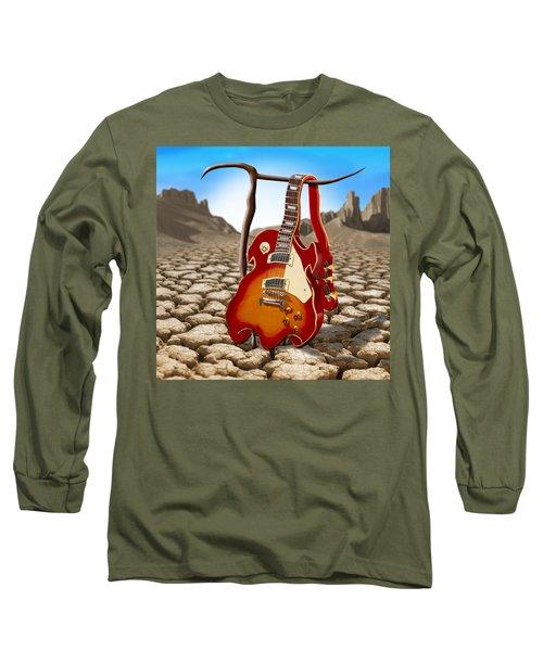 Soft Guitar II Long Sleeve T-Shirt