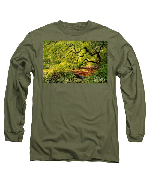 Tranquil Shade Long Sleeve T-Shirt