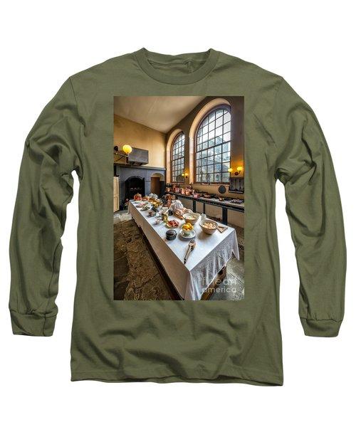 Victorian Kitchen Long Sleeve T-Shirt