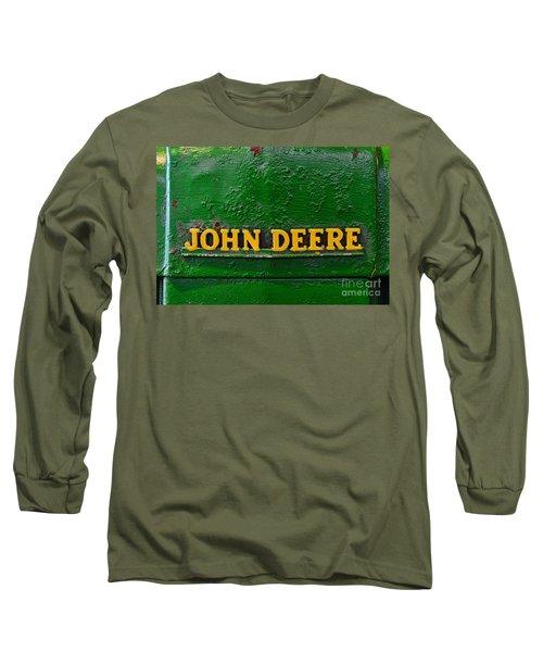 Vintage John Deere Tractor Long Sleeve T-Shirt