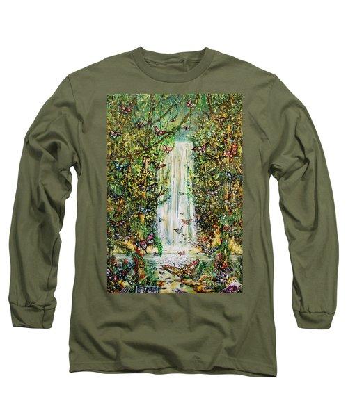Waterfall Of Prosperity II Long Sleeve T-Shirt