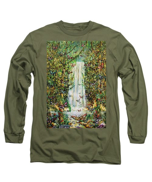 Waterfall Of Prosperity II Long Sleeve T-Shirt
