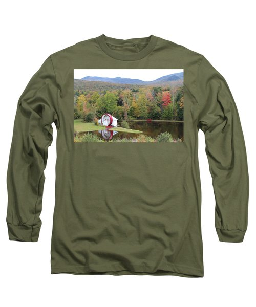 White Mountains Indian Head Nh Long Sleeve T-Shirt