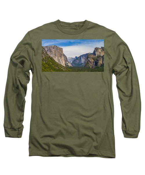 Yosemite Valley Long Sleeve T-Shirt by Brian Williamson
