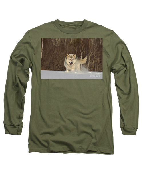 Wolf In Winter Long Sleeve T-Shirt