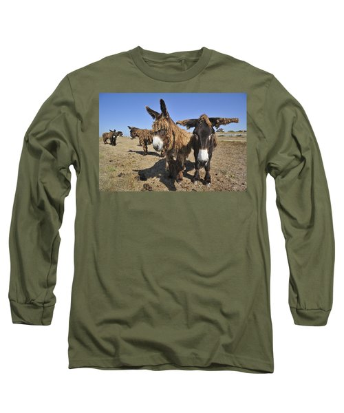 Long Sleeve T-Shirt featuring the photograph 120920p029 by Arterra Picture Library