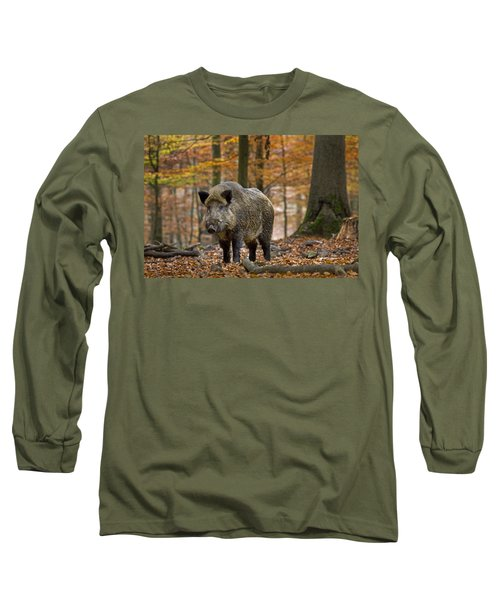 Long Sleeve T-Shirt featuring the photograph 121213p283 by Arterra Picture Library