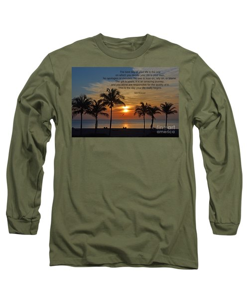 154- Bob Moawad Long Sleeve T-Shirt by Joseph Keane