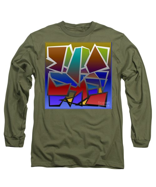 1624 Abstract Thought Long Sleeve T-Shirt