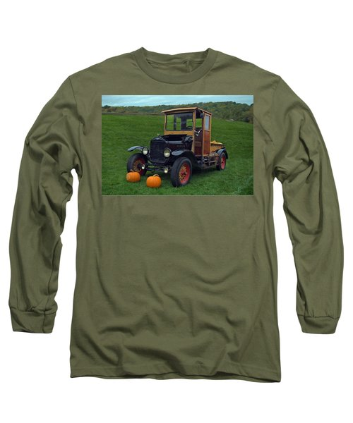 1922 Ford Model T Truck Long Sleeve T-Shirt by Tim McCullough